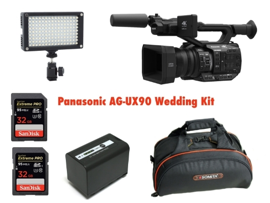 Panasonic AG-UX90 si Sony HXR-NX200. Camere video Pro